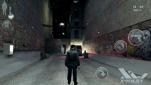 Игра Max Payne на ASUS Zenfone 5