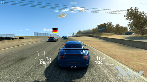 Игра Real Racing 3 на ASUS Zenfone 5