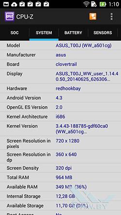Система ASUS Zenfone 5