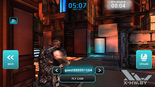 Игра Shadowgun: Dead Zone на ASUS Zenfone 5