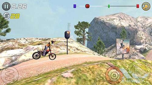 Игра Trial Xtreme 3 на ASUS Zenfone 5