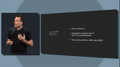 ART в Android 5.0 ускоряет работу в два раза