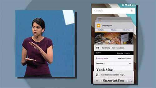 Вкладки Chrome в Android 5.0 видны в списке последних приложений