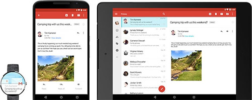 Android 5.0 может работать с разными устройствами