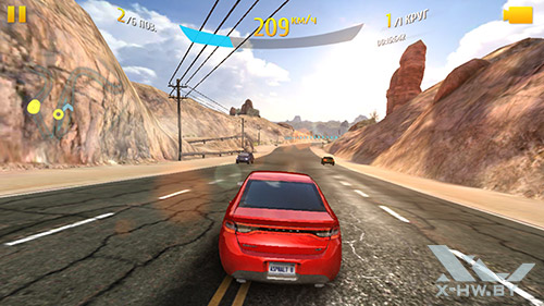 Игра Asphalt 8 на Samsung Galaxy Note 4