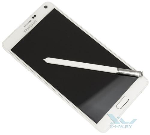Samsung Galaxy Note 4 со стилусом