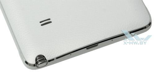 Задняя крышка Samsung Galaxy Note 4 сделана под кожу