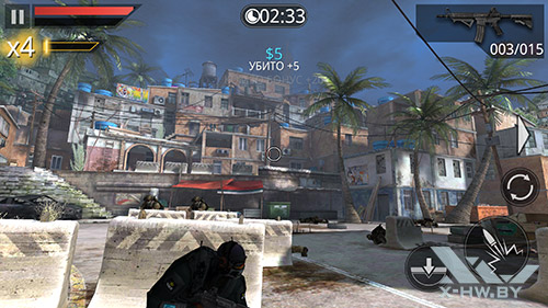 Игра Frontline Commando 2 на Samsung Galaxy Note 4