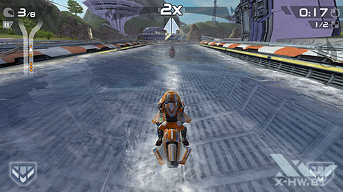 Игра Riptide GP2 на Samsung Galaxy Note 4