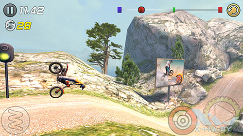 Игра Trial Xtreme 3 на Samsung Galaxy Note 4