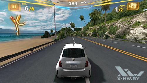 Игра Asphalt 7 на Huawei Honor 3