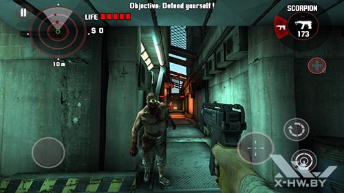 Игра Dead Trigger на Huawei Honor 3