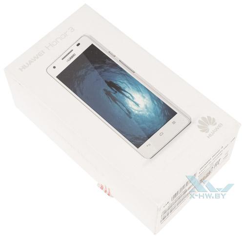 Коробка Huawei Honor 3
