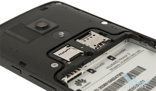 Разъемы на Huawei Honor 3