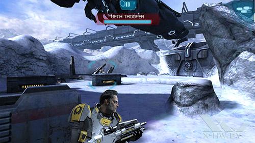 Игра Mass Effect: Infiltrator на Huawei Honor 3