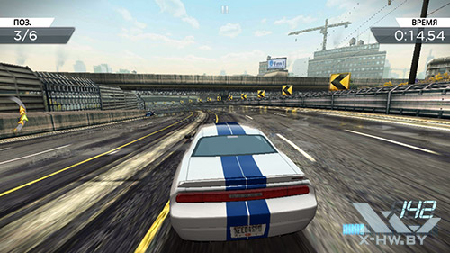 Игра Need For Speed: Most Wanted на Huawei Honor 3