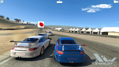 Игра Real Racing 3 на Huawei Honor 3