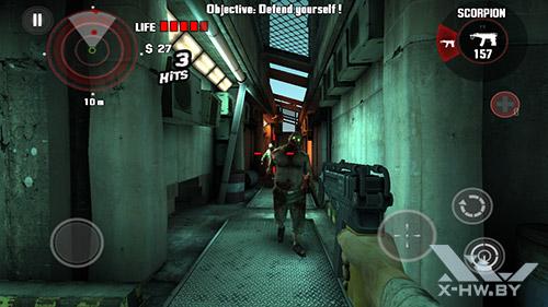 Игра Dead Trigger на Highscreen Omega Prime S