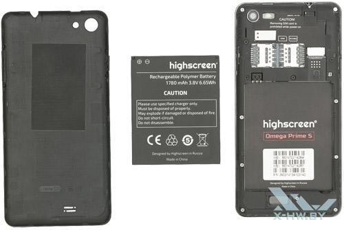 Внутри Highscreen Omega Prime S