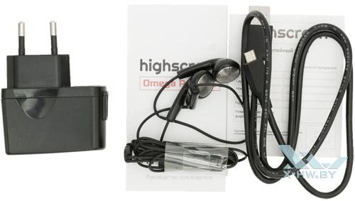 Комплектация Highscreen Omega Prime S
