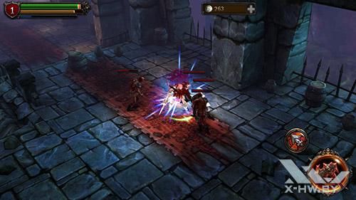 Игра Eternity Warriors 2 на Highscreen Omega Prime S