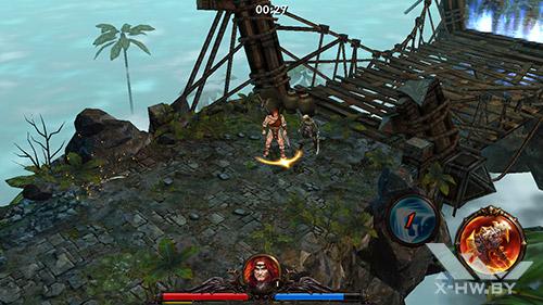 Игра Eternity Warriors 3 на Highscreen Omega Prime S