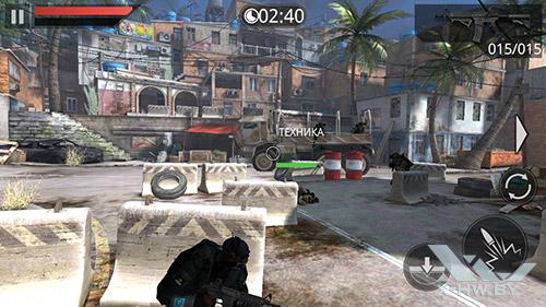 Игра Frontline Commando 2 на Highscreen Omega Prime S