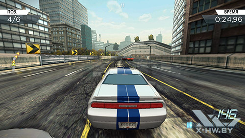 Игра Need for Speed: Most Wanted на Highscreen Omega Prime S