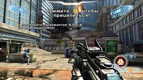 Игра N.O.V.A. 3 на Highscreen Omega Prime S