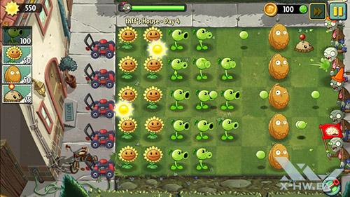 Игра Plants vs Zombies 2 на Highscreen Omega Prime S