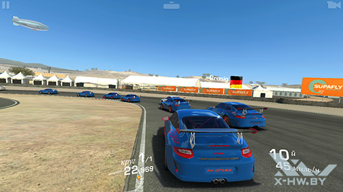 Игра Real Racing 3 на Highscreen Omega Prime S