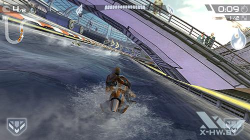 Игра Riptide GP2 на Highscreen Omega Prime S