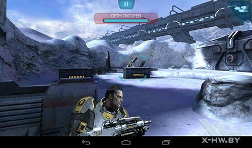 Игра Mass Effect Infiltrator на TurboPad 912