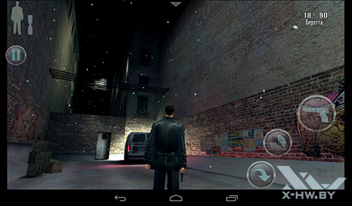 Игра Max Payne на TurboPad 912