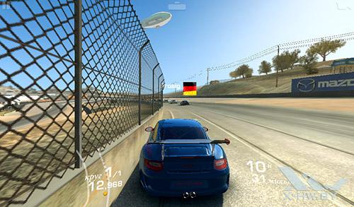 Игра Real Racing 3 на TurboPad 912