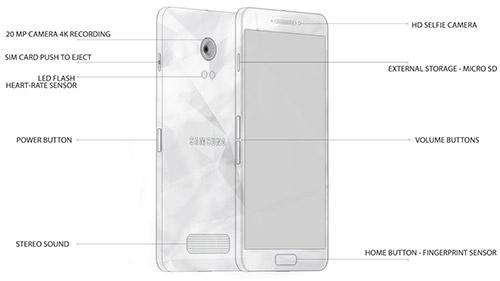 Схема Galaxy S6