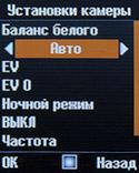 Параметры видеокамеры на Senseit P7. Рис. 2