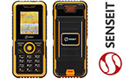 Противоударный телефон с самым большим аккумулятором - Senseit P7