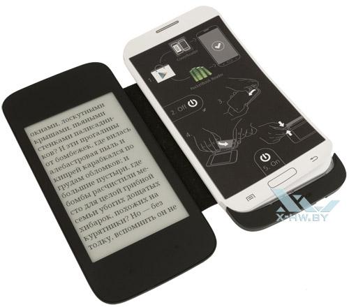 Руководство пользователя PocketBook CoverReader для Galaxy S4