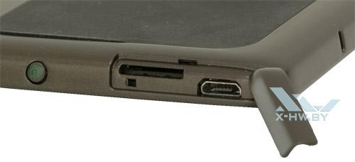 Разъемы на PocketBook 840