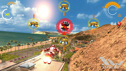 Игра Железный человек 3 на Turbo X Dream