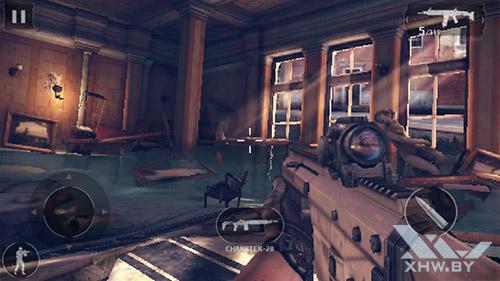 Игра Modern Combat 5 на Turbo X Dream