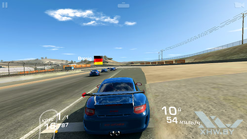 Игра Real Racing 3 на Turbo X Dream