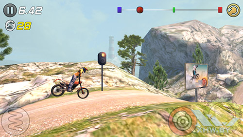 Игра Trial Xtreme 3 на Turbo X Dream