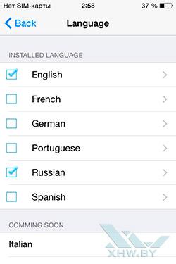 TouchPal в iOS 8. Рис. 7