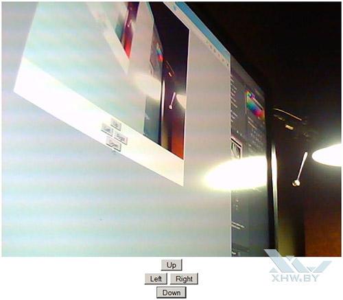 Управление камерой Zodiak IP909IW через браузер