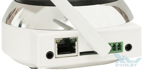 Разъемы Zodiak IP909IW снизу