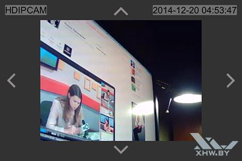Управление камерой Zodiak IP909IW через iOS. Рис. 4