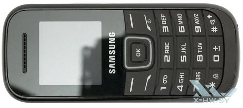 Samsung GT-E1200R. Вид сверху