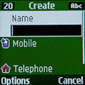 Контакты на Samsung GT-E1200R. Рис. 2